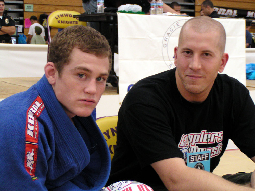 Jeff Glover and Brian Cimins at IGJJF 2003