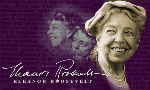 You must do the thing you think you cannot do--Eleanor Roosevelt - Thoughts by Brian Cimins