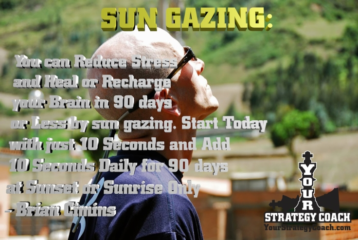 SUN GAZING - Try it for 90 Days to Help Heal Your Brain - NASA Confirms -Super Human Abilities Gained Through Sungazing