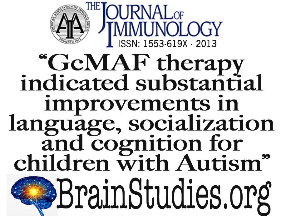 Hope For Autism Treatments – Journal of Immunology – GcMAF