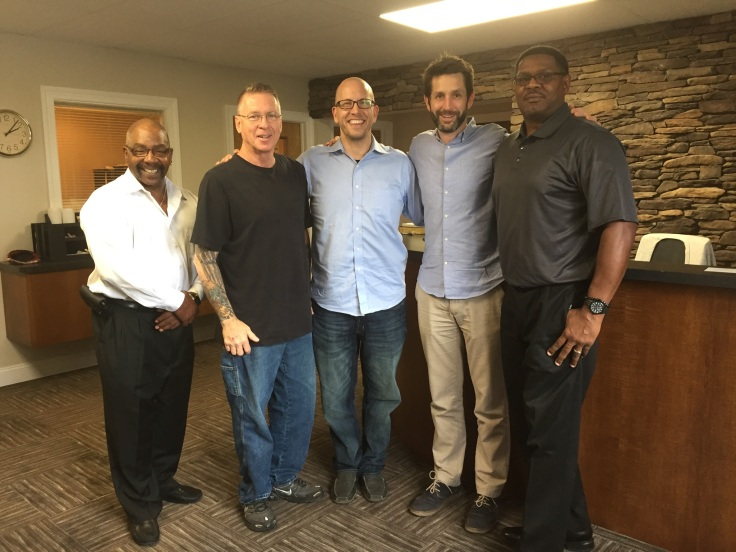 Lunch-with-Author-Mentors-Seth-Haines-Mike-Bethune-Brian-Cimins-Perry-Mark-McVeigh