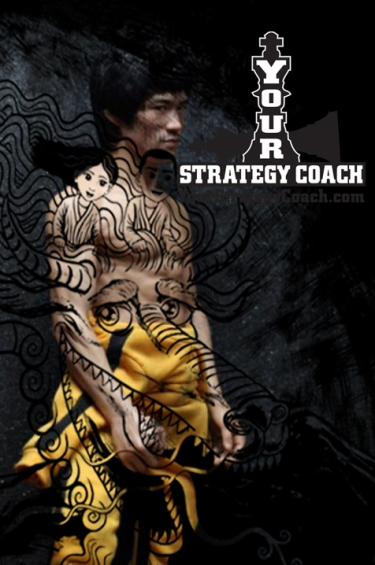 Bruce-Lee-Dragon-Your-Strategy-Coach-Brian-Cimins-Artwork